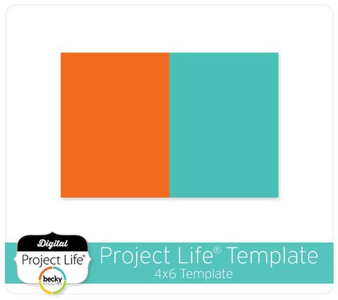 Project Life FREE 4x6 Template