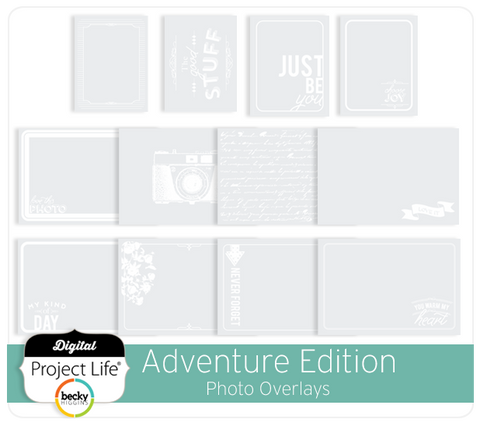 Adventure Edition Photo Overlays