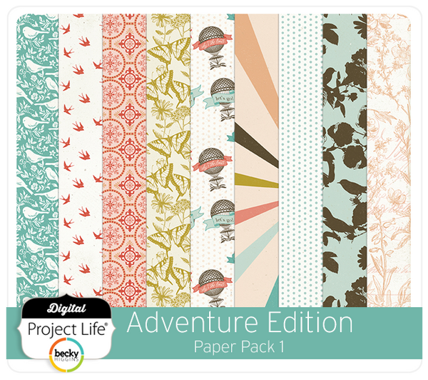 Adventure Edition Paper Pack 1