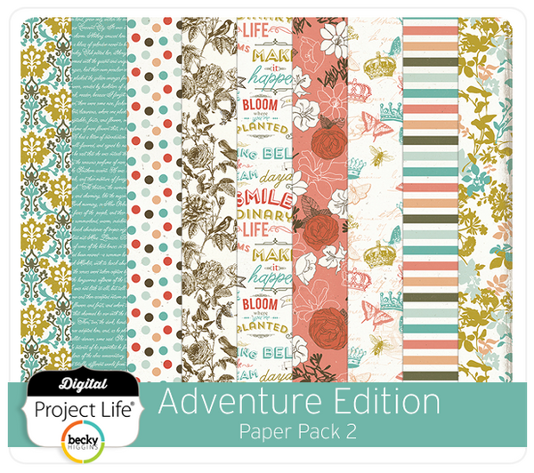 Adventure Edition Paper Pack 2
