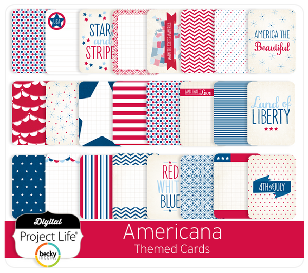 Americana Themed Cards