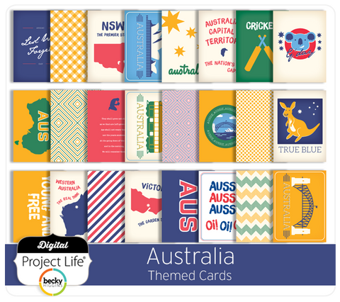 Australia Themed Cards