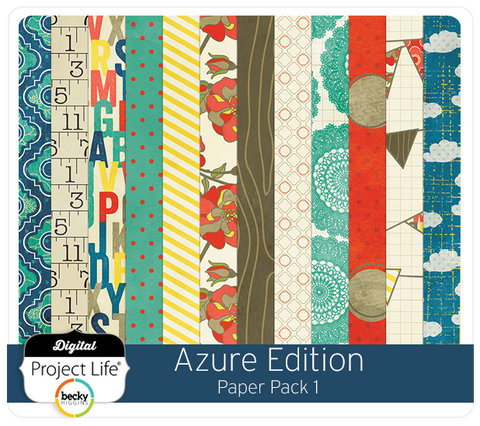 Azure Edition Paper Pack #1
