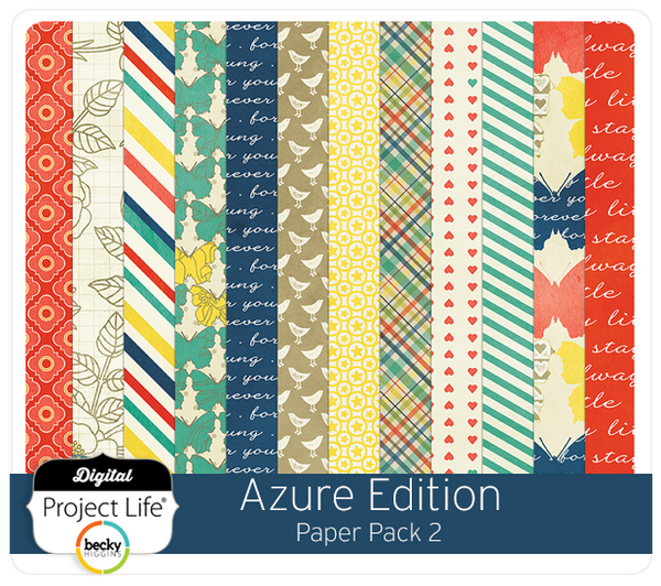 Azure Edition Paper Pack #2