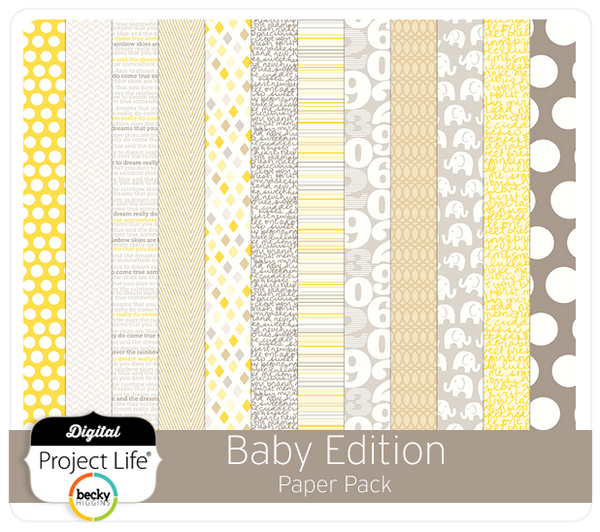 Baby Edition Paper Pack