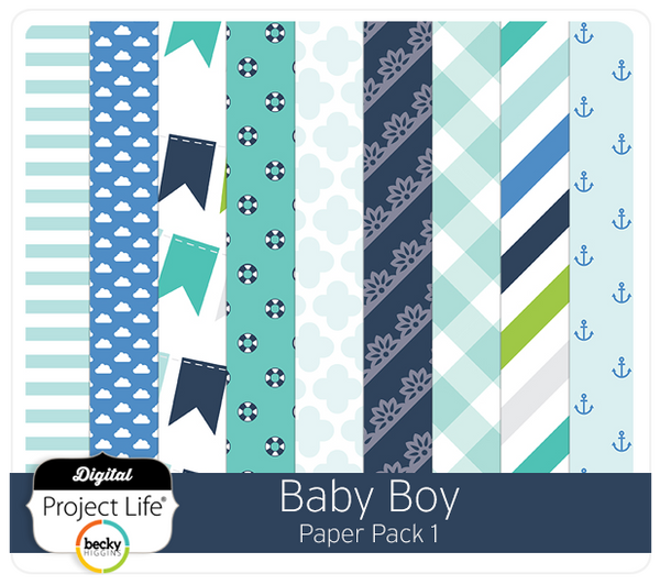 Baby Boy Edition Paper Pack 1