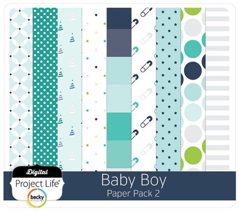 Baby Boy Edition Paper Pack 2