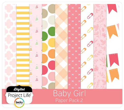 Baby Girl Edition Paper Pack 2