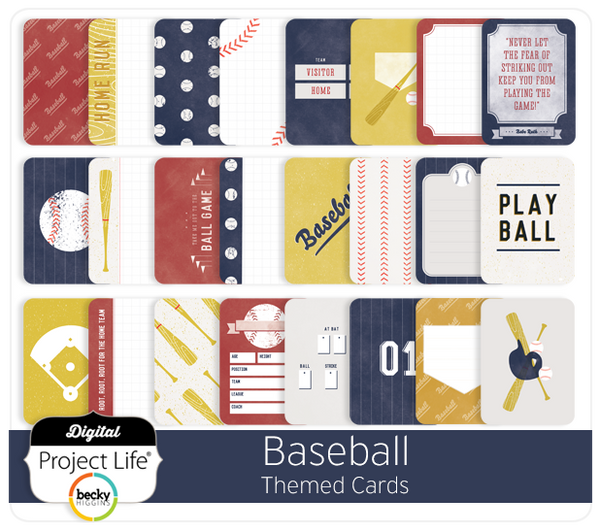 Baseball Themed Cards