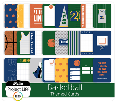 Basketball Themed Cards