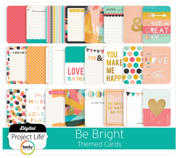 Be Bright Themed Cards