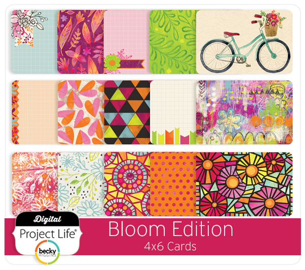 Bloom Edition 4x6 Cards