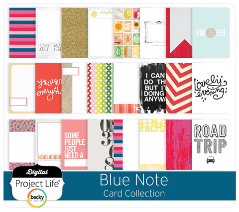 Blue Note Card Collection