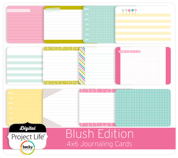Blush Edition Bi-Fold Cards