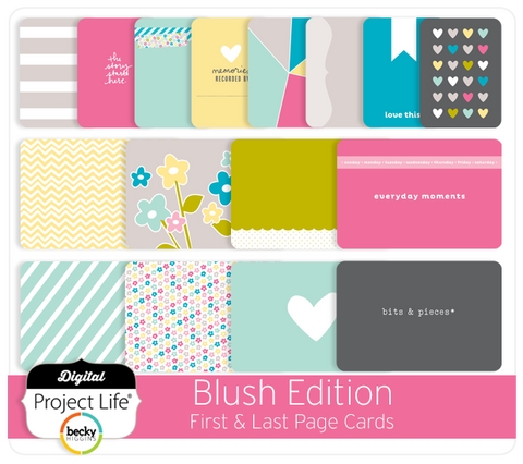 Blush Edition First + Last Page Cards