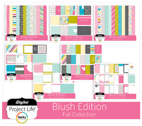 Blush Edition Full Collection