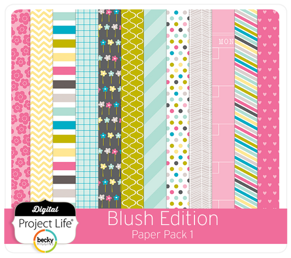 Blush Edition Paper Pack #1