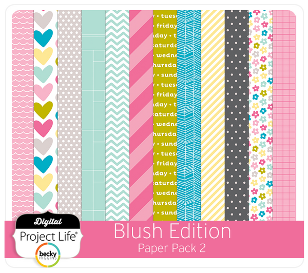 Blush Edition Paper Pack #2
