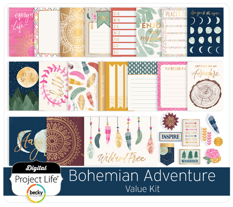 Bohemian Adventure Value Kit
