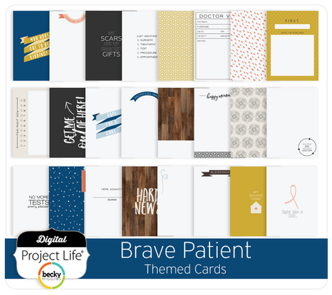 Brave Patient Themed Cards