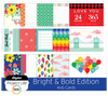 Bright & Bold Edition 4x6 Cards