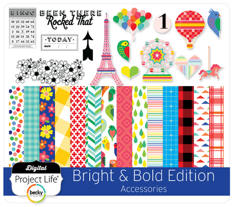 Bright & Bold Edition Accessories