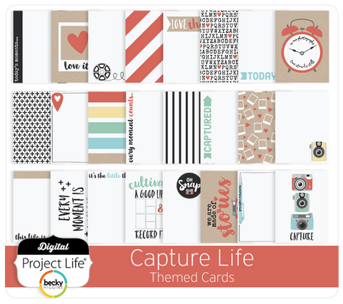 Capture Life Themed Cards