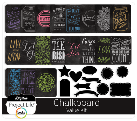 Chalkboard Value Kit