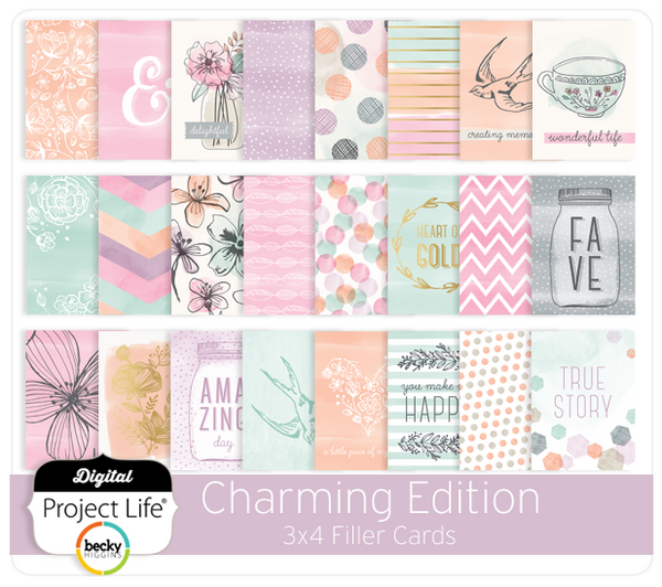 Charming Edition 3x4 Filler Cards