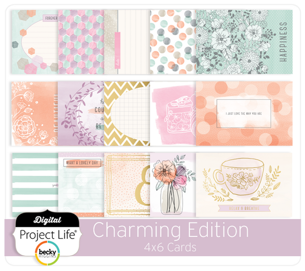 Charming Edition 4x6 Cards
