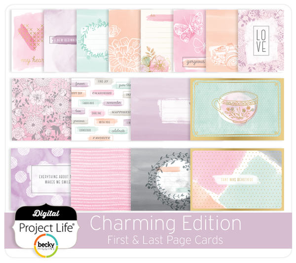 Charming Edition First & Last Page Cards