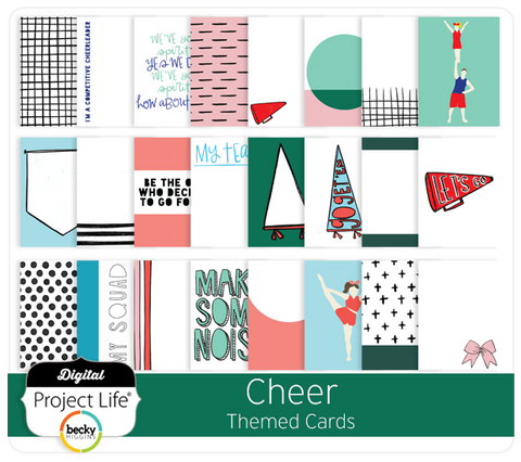 Cheer Themed Cards