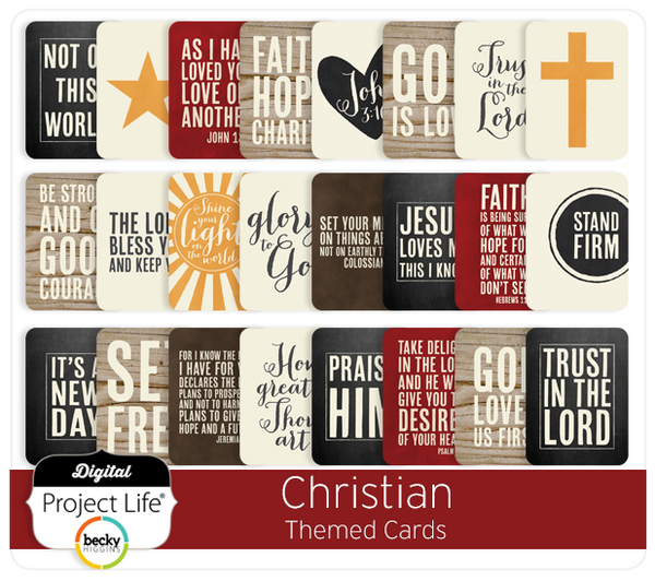 Christian Themed Cards