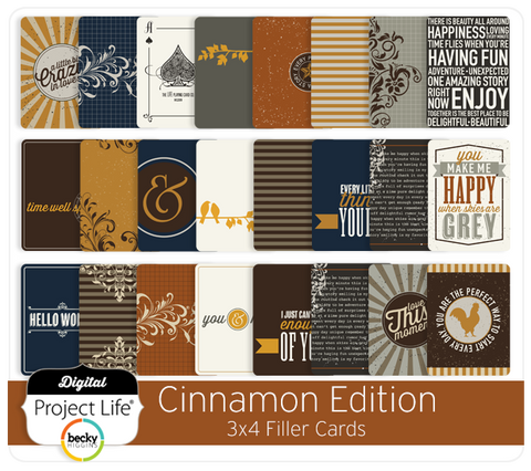 Cinnamon Edition Filler Cards