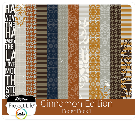 Cinnamon Edition Paper Pack #1