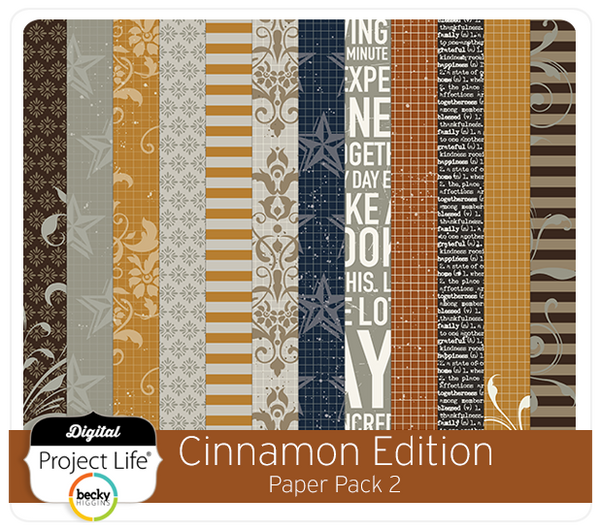 Cinnamon Edition Paper Pack #2