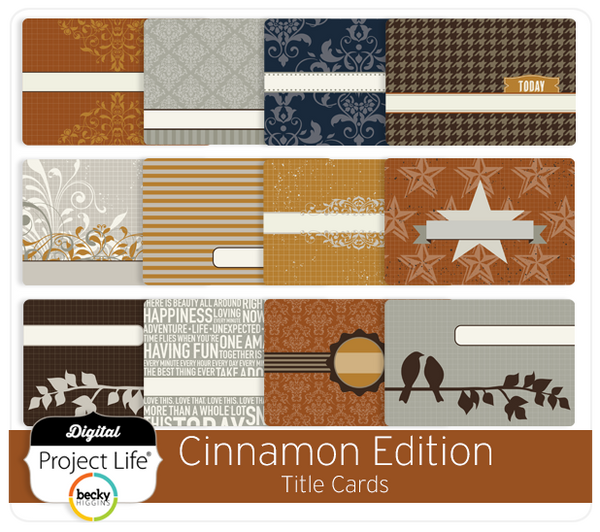 Cinnamon Edition Title Cards