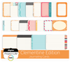 Clementine Edition Journaling Cards