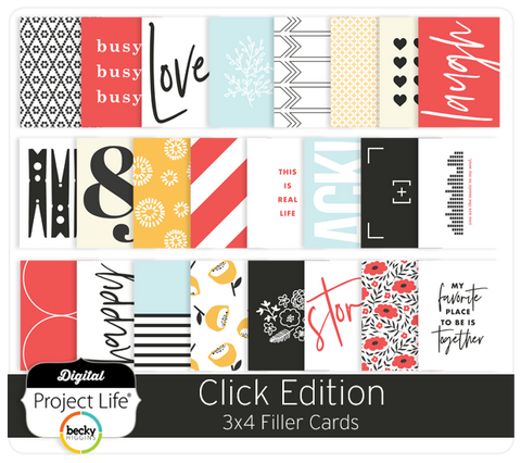 Click Edition 3x4 Filler Cards