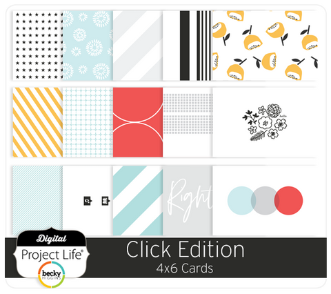 Click Edition 4x6 Cards