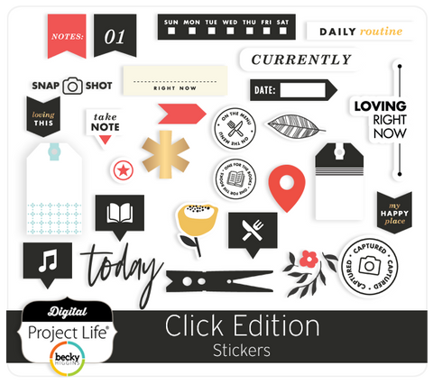 Click Edition Stickers
