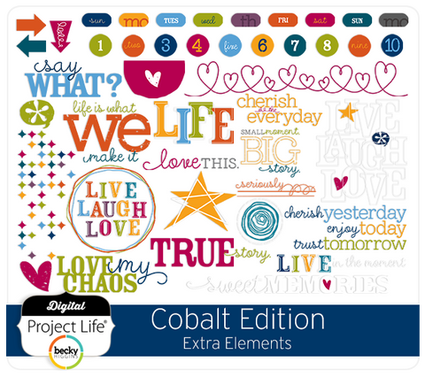 Cobalt Edition Extra Elements Add-On Kit
