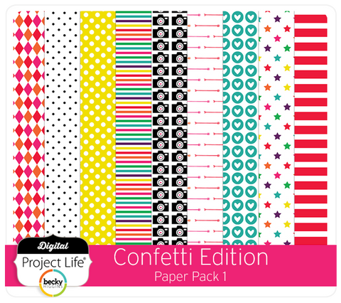Confetti Edition Paper Pack 1