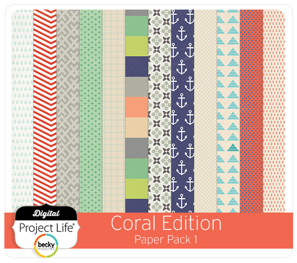Coral Edition Paper Pack 1