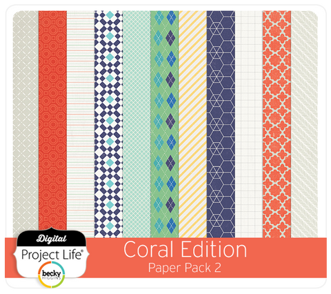 Coral Edition Paper Pack 2