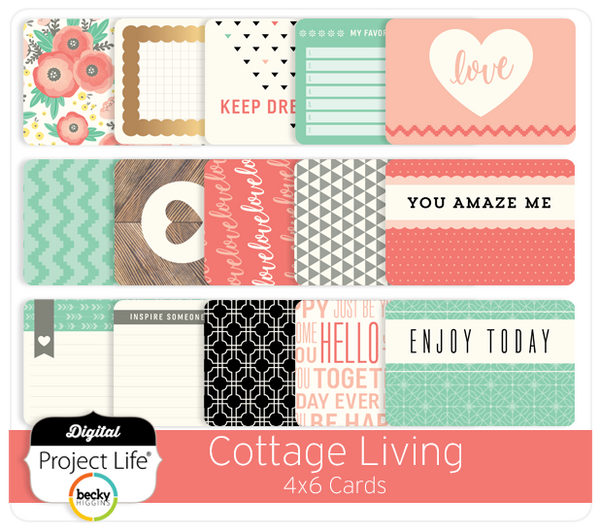 Cottage Living Edition 4x6 Cards