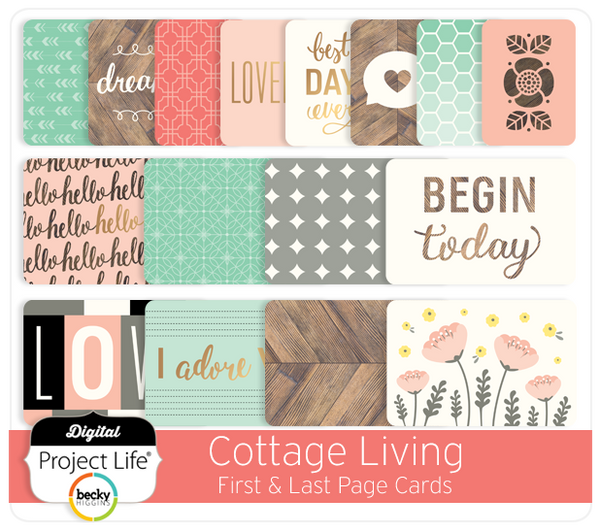 Cottage Living Edition First & Last Page Cards