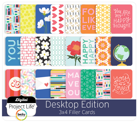 Desktop Edition 3x4 Filler Cards