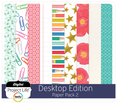 Desktop Edition Paper Pack 2