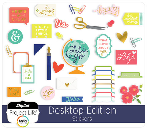 Desktop Edition Stickers